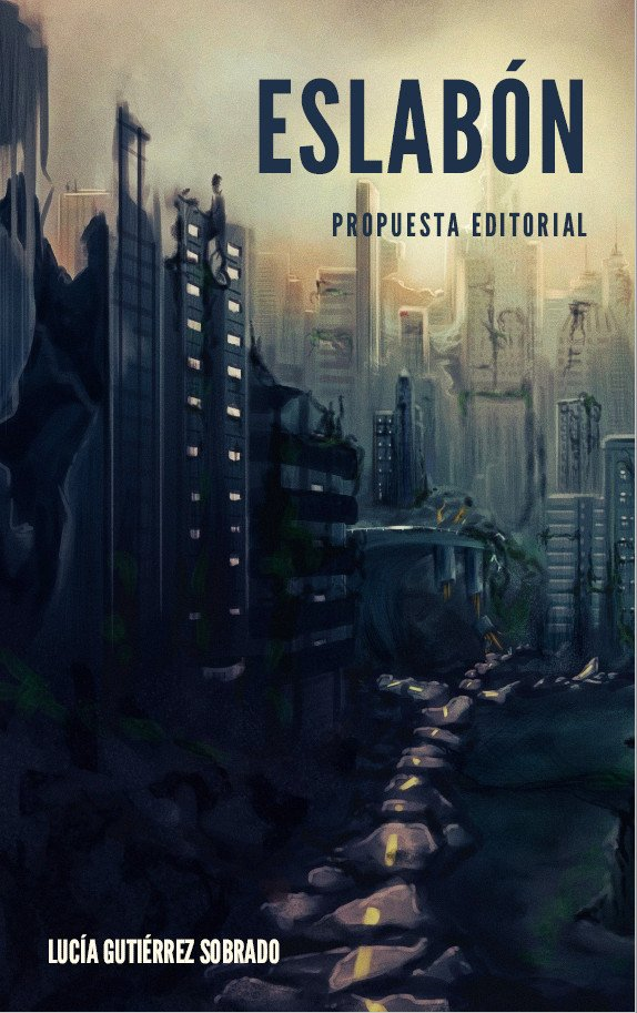 Cubierta propuesta editorial Eslabón